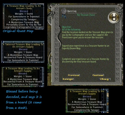 Pub 105 - Treasure Map Update Phase I *See new thread